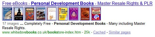 Book Images in Google Search