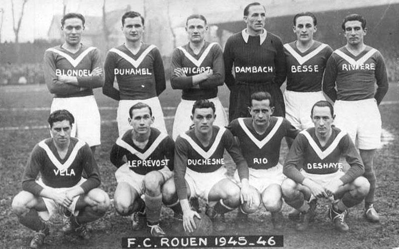 rouen 1945-46