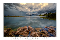 THE STORMS OF SOUTH FLORIDA #2 (carlosm76) Tags: lake rocks dramatic everglades evergladesnationalpark storms canon1740l coudls carlosmolina pinegladeslake canon5dmkii carlosm76 carlosmolinaphotography 5dmkii southfloridastorms
