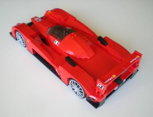 Le Mans Prototype Ferrari (Lego) 6