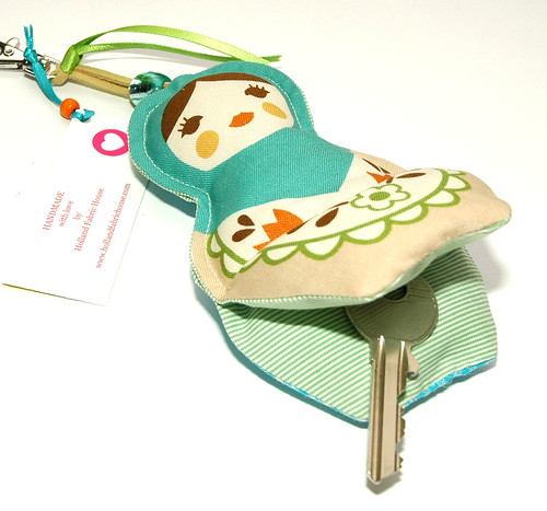 Babushka key ring