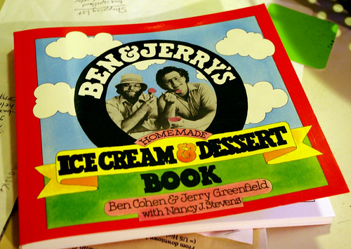 Ben & Jerry's recipe book