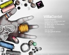 Villa Dantel Adv. 2 (Gray!) Tags: art photoshop design women graphic designer scanner advertisement commercial villa kuwaiti adv scannerart  scaner dantel    scannography    villadantel
