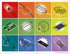 DIY (James Provost) Tags: make illustration photoshop work diy technology diagram editorial illustrator vector instruction isometric editorialillustration technicalillustration