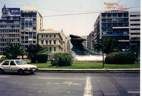 Omonia Square - 1990