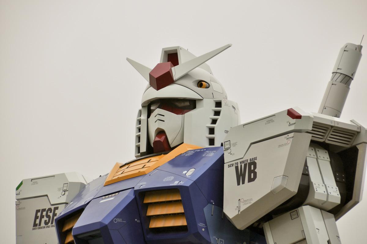 Serie Gundam tamaño real Tokio