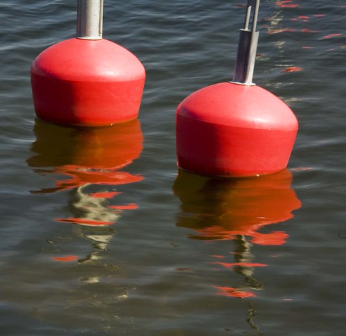 20090510. Viinistu. Red buoys. 3073.