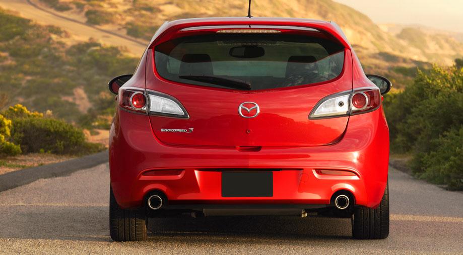 Aggressive nagare styling Mazda3