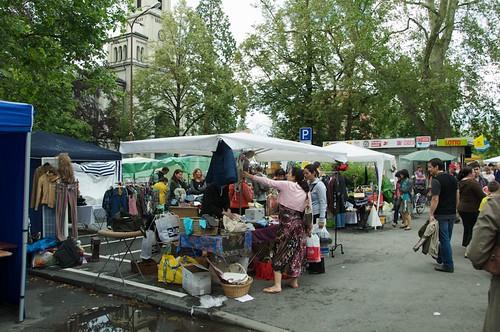 Flohmarkt in Konstanz