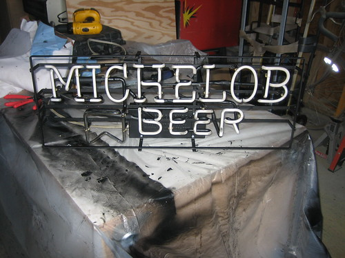 Michelob Beer Neon