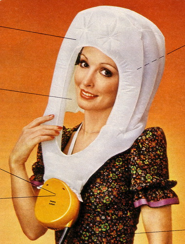 German floating bonnet dryer ad