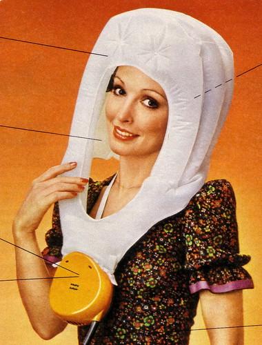 German floating bonnet dryer ad