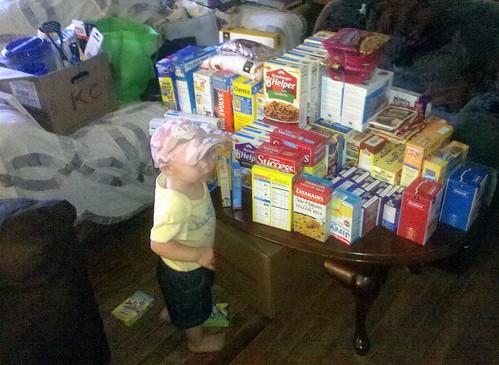 Sorting Boxed Food