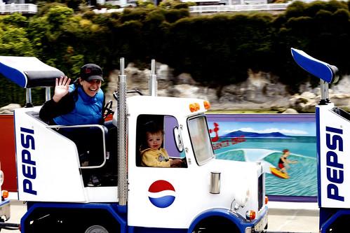 O V pepsi truck