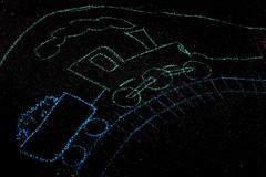 (Tease 2 0 1 0) Tags: street railroad childhood train 50mm chalk eisenbahn zug kinder kind colourful asphalt bunt 50mmf14 kindheit kreide project365 strase 365project 163365 eos5dmkii 2011yip