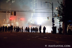 Vancouver Stanley Cup Riot - June 15, 2011 (Ami.Sanyal) Tags: street sports vancouver riot downtown crowd journalism canuck playoff
