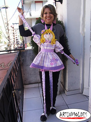 BEATRIZ CRISTINA (BONECA PEDAGGICA)   REPAGINADA (Artinmoldes - Atelier Das Mana) Tags: boneca pedaggica
