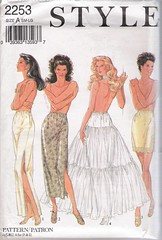 Style 2253 (Artdoodads.etsy) Tags: fashion pattern underwear sewing crafts craft style sew lingerie slip supplies supply misses intimates sewingpattern halfslip underskirt 2253
