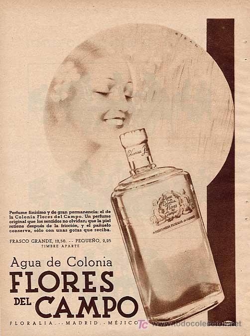 Flores del Campo cologne, 1933