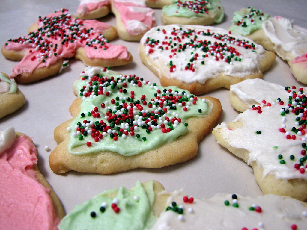Real Christmas cookies