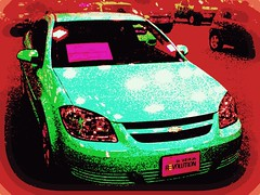 American Cobalt Fantasy (gurdonark) Tags: auto show new chevrolet car dallas chevy convention picnik cobalt