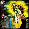 Bolivian style (manganite) Tags: carnival portrait people color men guy green topf25 face hat digital germany hair square geotagged fun costume interestingness nikon colorful europe bonn hand mask dancing tl framed feathers makeup posing dancer explore wig yelow procession d200 nikkor dslr umzug karneval karnevalszug rosenmontag northrhinewestphalia interestingness83 i500 18200mmf3556 utatafeature manganite nikonstunninggallery date:month=february date:day=23 date:year=2009 rosenmotagszug geo:lat=50733376 geo:lon=709403 format:orientation=square format:ratio=11