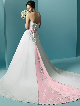 unique valentines wedding dress