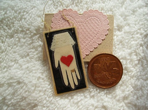 Extra Mini Valentine card and envelope