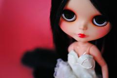 Mang (r e n a t a) Tags: pink macro cute canon doll rosa plastic geisha kawaii blythe  boneca custom takara plstico gueixa customizada extrahands pureneemobody elianasaito lilitix custombylilitix