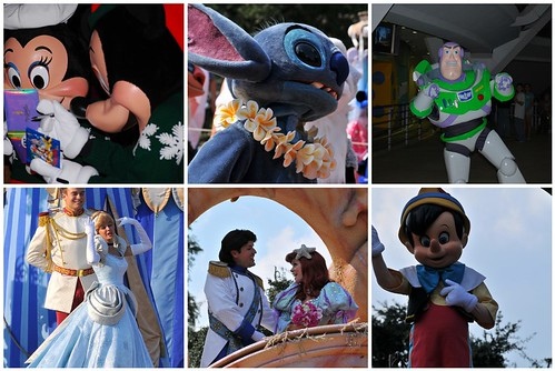 disney world magic kingdom pictures. Characters at Magic Kingdom