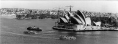 Sydney Opera House (rcc1204) Tags: house ferry check opera harbour crane sydney 1966 historic cranes 1960s date ferries 1964 bennelong