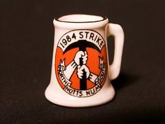 Miners' strike 1984 (rikj) Tags: maggie 1984 coal num margaretthatcher dole olympusc8080 minersstrike rikj sanitasperevolo