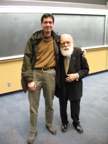 Me and James Randi