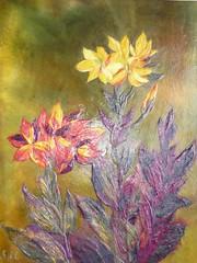 CHIGIRIE (rheajm) Tags: painting paper washi chigirie washiart