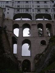 Most Kloaczny (magro_kr) Tags: bridge castle architecture arch arcade most czechrepublic luk zamek architektura eskkrumlov czechy podcienia uk eskrebublika
