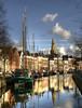 Groningen (Dani℮l) Tags: holland church netherlands reflections boot march boat canal nikon daniel nederland groningen 2009 hdr gracht theoldcity maart akerk d300 grachtenpand dutchskies hollandselucht hogederaa onasunnyafternoon dedaniel classicviews