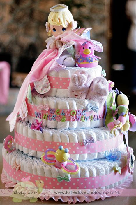I LOVED Jenni's diaper cake!