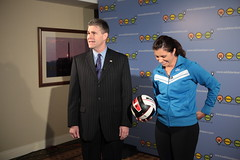 """Attorney General JB Van Hollen and Misty May Treanor (century council) Tags: usa dc washington general may jb van """" listen hollen """"beach scenes"""" council"""" """"professional """"century general"""" """"behind """"misty may"""" athlete"""" """"volleyball"""" """"jb hollen"""" """"attorney """"ask learn"""" treanor"""" volleyball"""" """"attorneys"""