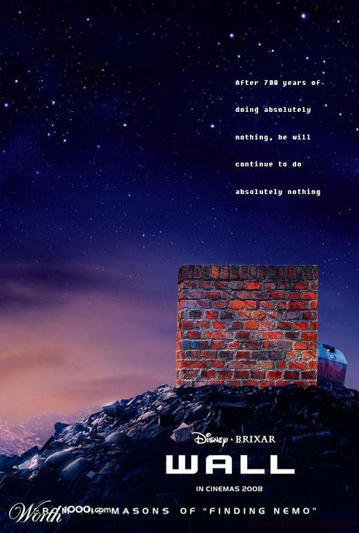 Wall Disney Brixar poster