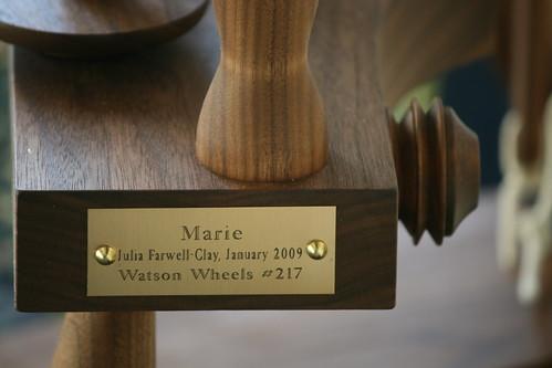 Watson plaque