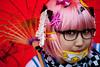 school girl cosplay at seoul Korea comic world convention (Derekwin) Tags: anime asian nikon comic cosplay character cartoon korea korean seoul convention gangnam yangjae d700 nikond700 nikkor105macrof28vr