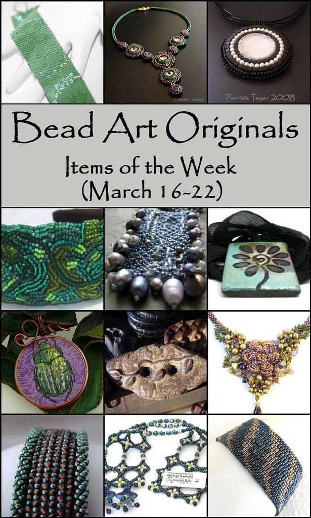 Bead Art Originals - Items of the Week (3/16-3/22)