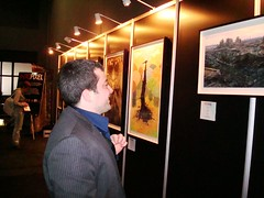 Art show at SXSW