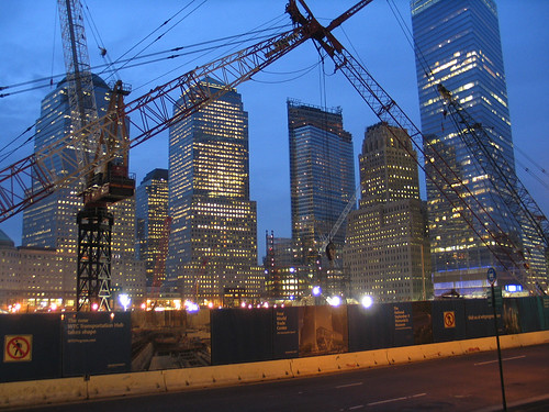 WTC, night view