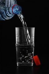 Red cap (mawel) Tags: red rot water glass wasser fluid cap glas deckel flssig
