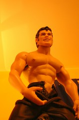 """""""Tom of Finland"""" 3061 (danimaniacs) Tags: shirtless leather toy plastic pubes tomoffinland unzipped"""