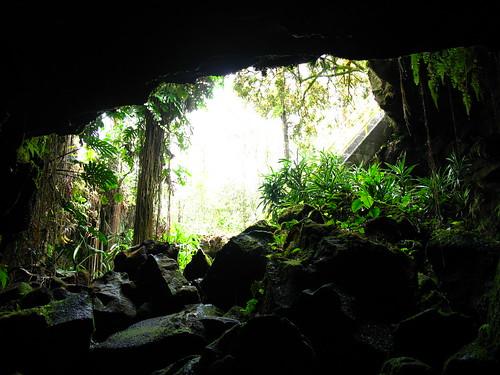 Kaumana Cave, Hawaii