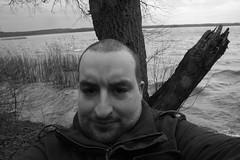 ich in neustrelitz (zonenschwabe) Tags: kalt selbstportrait wochenende spaziergang neustrelitz feucht windig