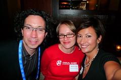 Mark de la Vina (Consort), Jessica Tams (CGA), Kathy Johnson (Consort Partners)