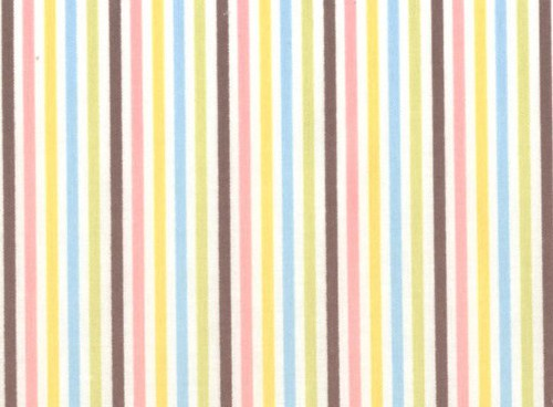 Lecien Color Basic - Multi Stripe